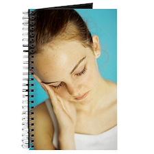 Unhappy girl Journal