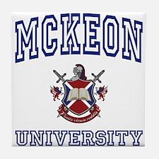 MCKEON University Tile Coaster