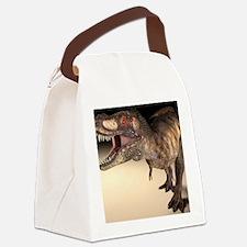 Tyrannosaurus rex dinosaur Canvas Lunch Bag