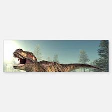 Tyrannosaurus rex dinosaur Bumper Bumper Sticker