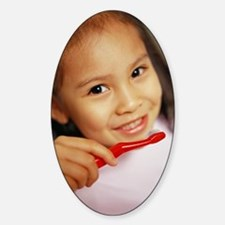Toothbrushing Sticker (Oval)