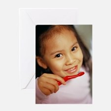 Toothbrushing Greeting Card