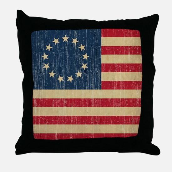VintageBetsyRoss Throw Pillow