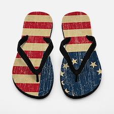 VintageBetsyRoss Flip Flops