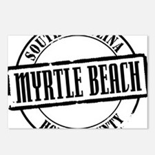 Myrtle Beach Title W Postcards (Package of 8)