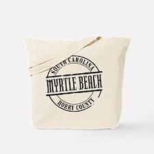 Myrtle Beach Title W Tote Bag