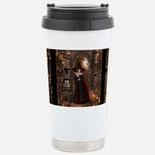 Witch in Library Travel Mug