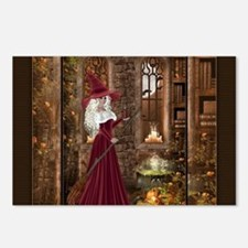 Witch with Candle Postcards (Package of 8)
