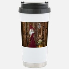 Witch with Candle Travel Mug