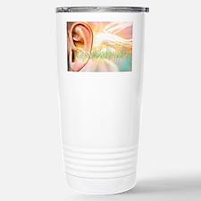 Tinnitus, conceptual artwork Travel Mug