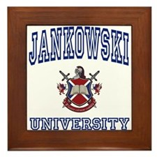 JANKOWSKI University Framed Tile