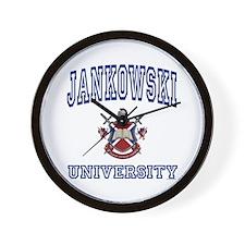 JANKOWSKI University Wall Clock