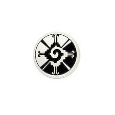 Mayan Hunab Ku Mini Button