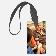 Taking a blood sample Luggage Tag