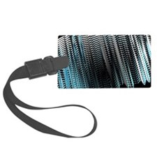 Swarm intelligence, artwork Luggage Tag