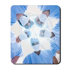 Surgical team Mousepad