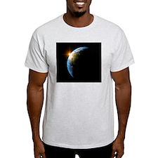 Sunrise over Earth, artwork T-Shirt
