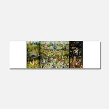 Hieronymus Bosch Garden Of Earth Car Magnet 10 x 3