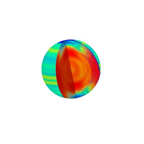 Sun structure Mini Button