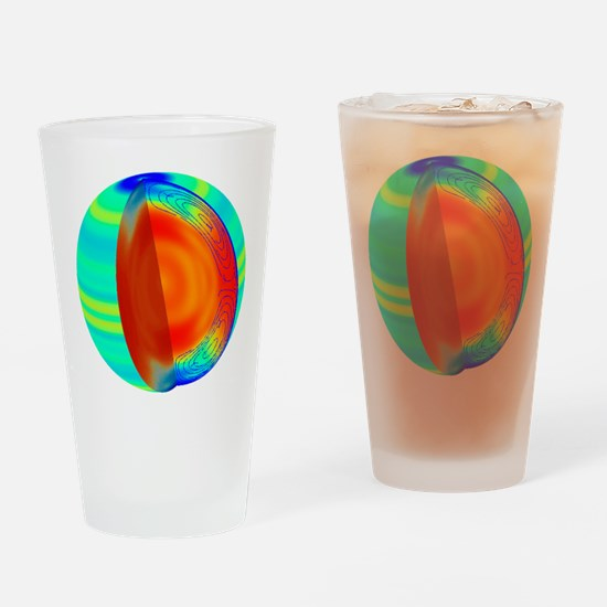 Sun structure Drinking Glass