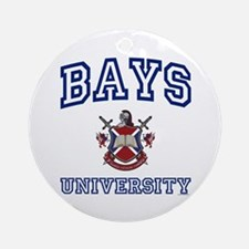 BAYS University Ornament (Round)