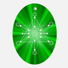 Transformation Oval Ornament