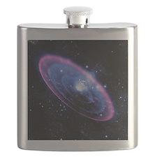 Supernova explosion, artwork Flask