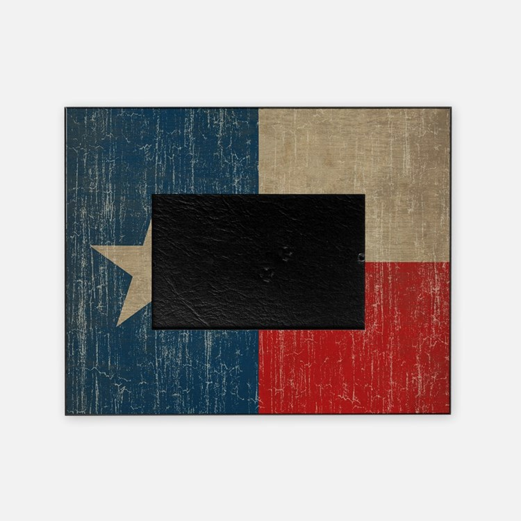 Vintage Texas Picture Frame