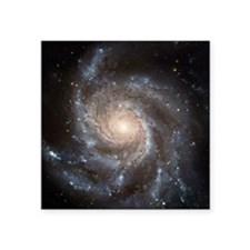 "Spiral galaxy M101 Square Sticker 3"" x 3"""