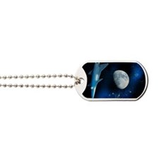 Spaceship, artwork Dog Tags