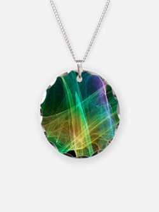 Strange attractor, artwork Necklace