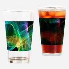Strange attractor, artwork Drinking Glass