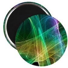 Strange attractor, artwork Magnet