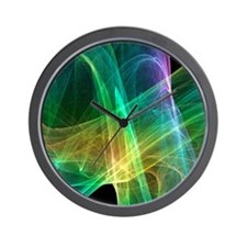 Strange attractor, artwork Wall Clock