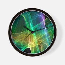 Strange attractor, artwork Wall Clock