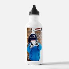 Snowball fight Water Bottle