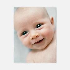 Smiling baby boy Twin Duvet