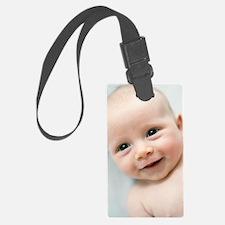 Smiling baby boy Luggage Tag