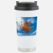 Smart dust, conceptual artwork Travel Mug