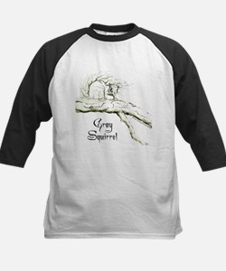 Graphic Gray Squirrel Tee