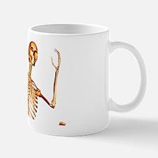 Skeleton running Mug