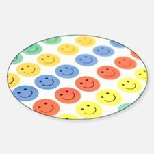 Smiley face stickers Decal