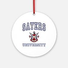 SAYERS University Ornament (Round)