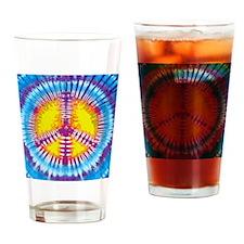 Tie Dye Drinking Glass