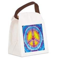 Tie Dye Canvas Lunch Bag