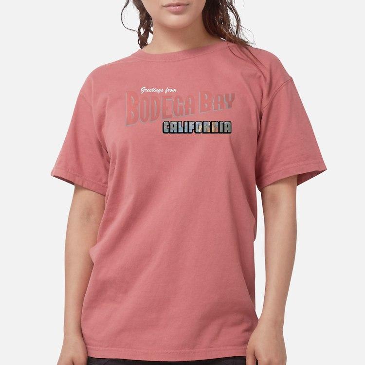 Bodega Bay Women's Violet T-Shirt