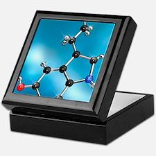 Serotonin neurotransmitter molecule Keepsake Box