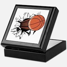 Basketball Stuff Keepsake Box