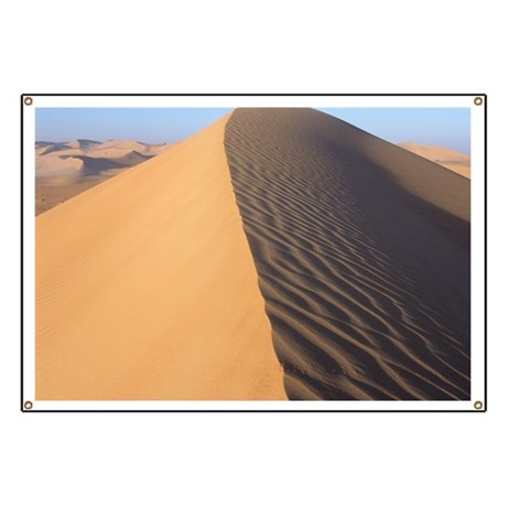 Sand dune crest Banner