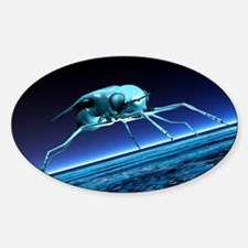 Robotic fly, artwork Decal